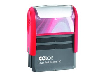 Colop Printer Dual Pad 40 Dual Pad (две подушки, 59х23 мм)