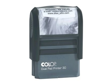 Colop Printer Dual Pad 30 Dual Pad (две подушки, 47х18 мм)